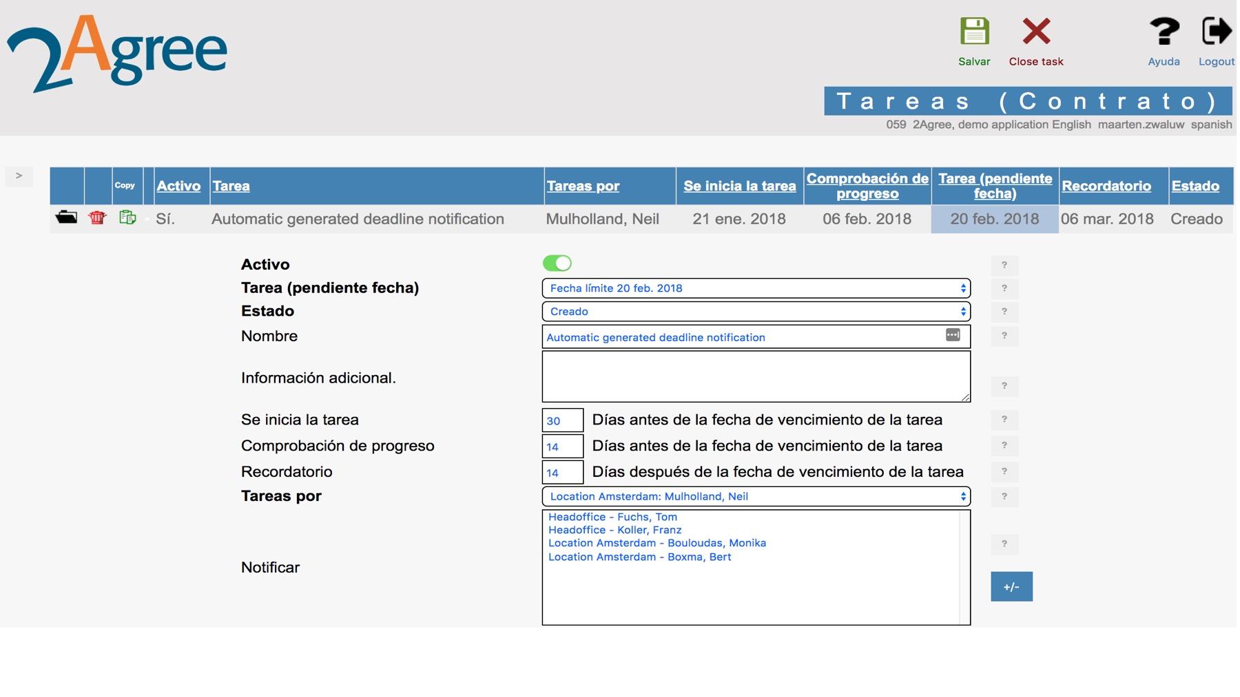 Software de gestión de contratos